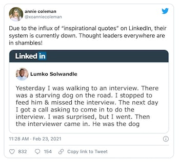 LinkedIn has become synonymous with posts about motivational stories that are hard to believe.