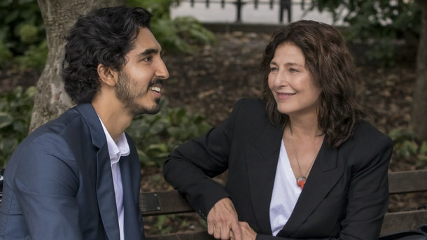 Catherine Keener and Dev Patel in Modern Love.