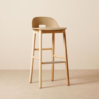 Alfi Barstool Low Back - Sand