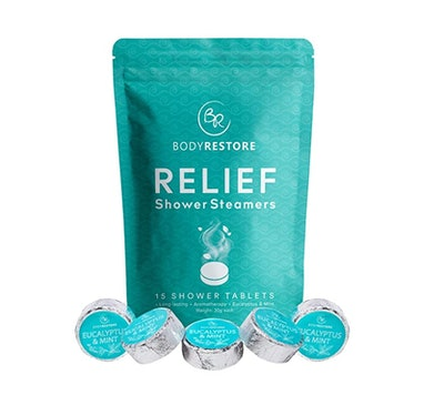 Body Restore Essential Oil Shower Steamers (15-Pack)