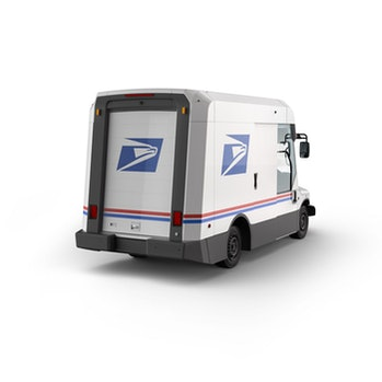 USPS unveiled the design for its new mail trucks.