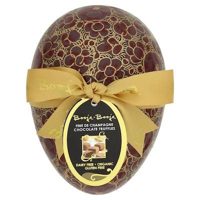 Large Organic Champagne Chocolate Truffles Easter Egg