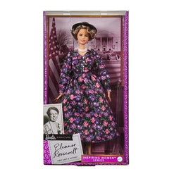 The latest addition to the Barbie Inspiring Women Series is former first lady Eleanor Roosevelt.