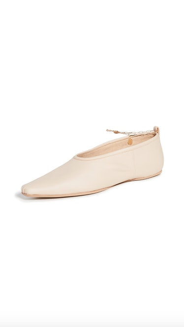 Ballerina Anklet Flats