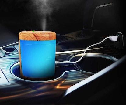nnoGear USB Car Essential Oil Diffuser