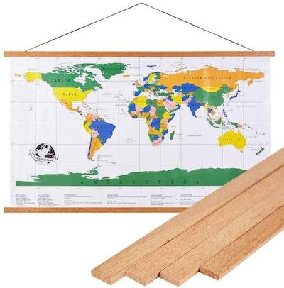 Benjia Magnetic Light Wood Frame