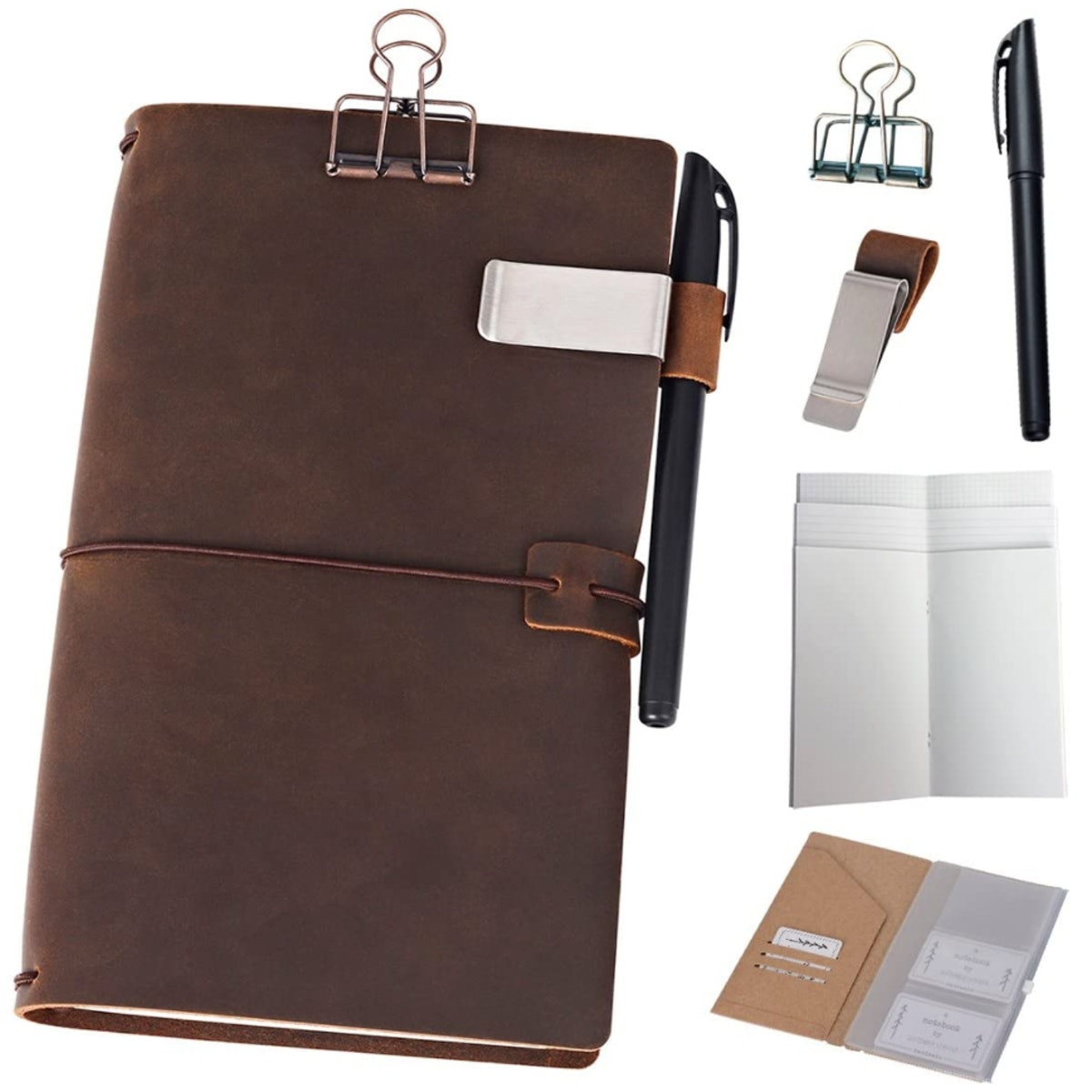 Newestor Refillable Leather Journal