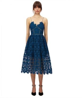 Petrol Azaelea Dress