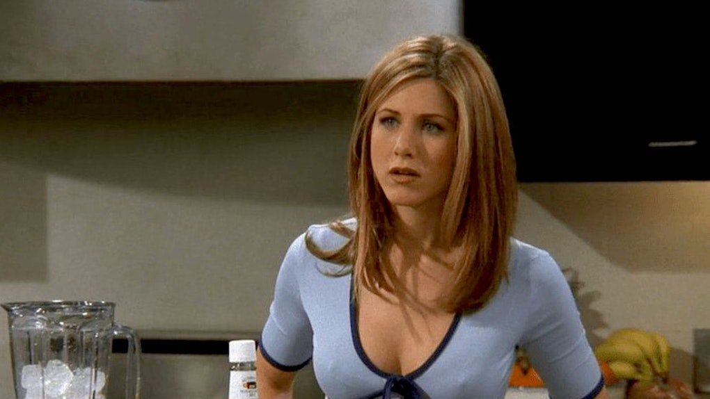 A TikTok pointing out how Jennifer Aniston clears her throat constantly as Rachel from 'Friends' has gone viral.