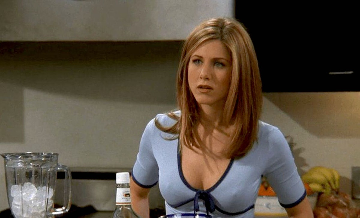 A TikTok pointing out how Jennifer Aniston clears her throat constantly as Rachel from 'Friends' has...