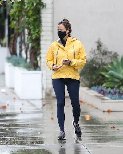 Jennifer Garner is seen on January 23, 2021 in Los Angeles, California.