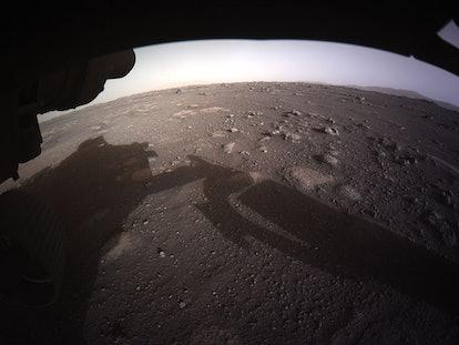 Perseverance color photo Mars