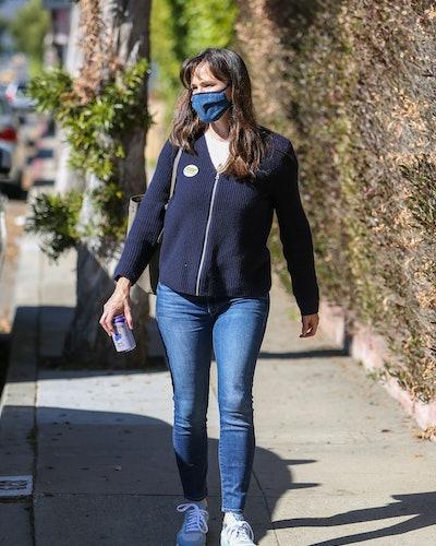 Jennifer Garner is seen on January 21, 2021 in Los Angeles, California.