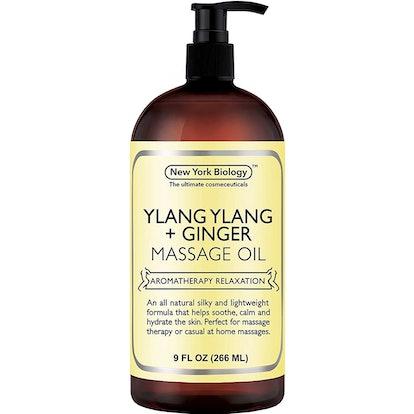 Ylang Ylang and Ginger Massage Oil