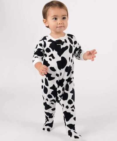 Leveret Fleece Footed Pajamas