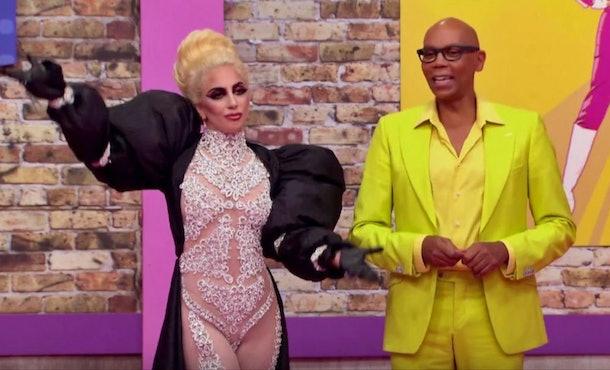 Lady Gaga surprised the queens in 'RuPual's Drag Race' Season 9.