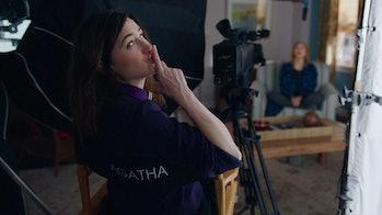 Kathryn Hahn as Agatha Harkness in WandaVision Episode 7