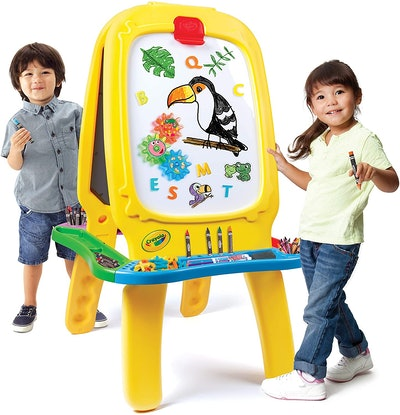 Crayola Deluxe Magnetic Double-Sided Easel