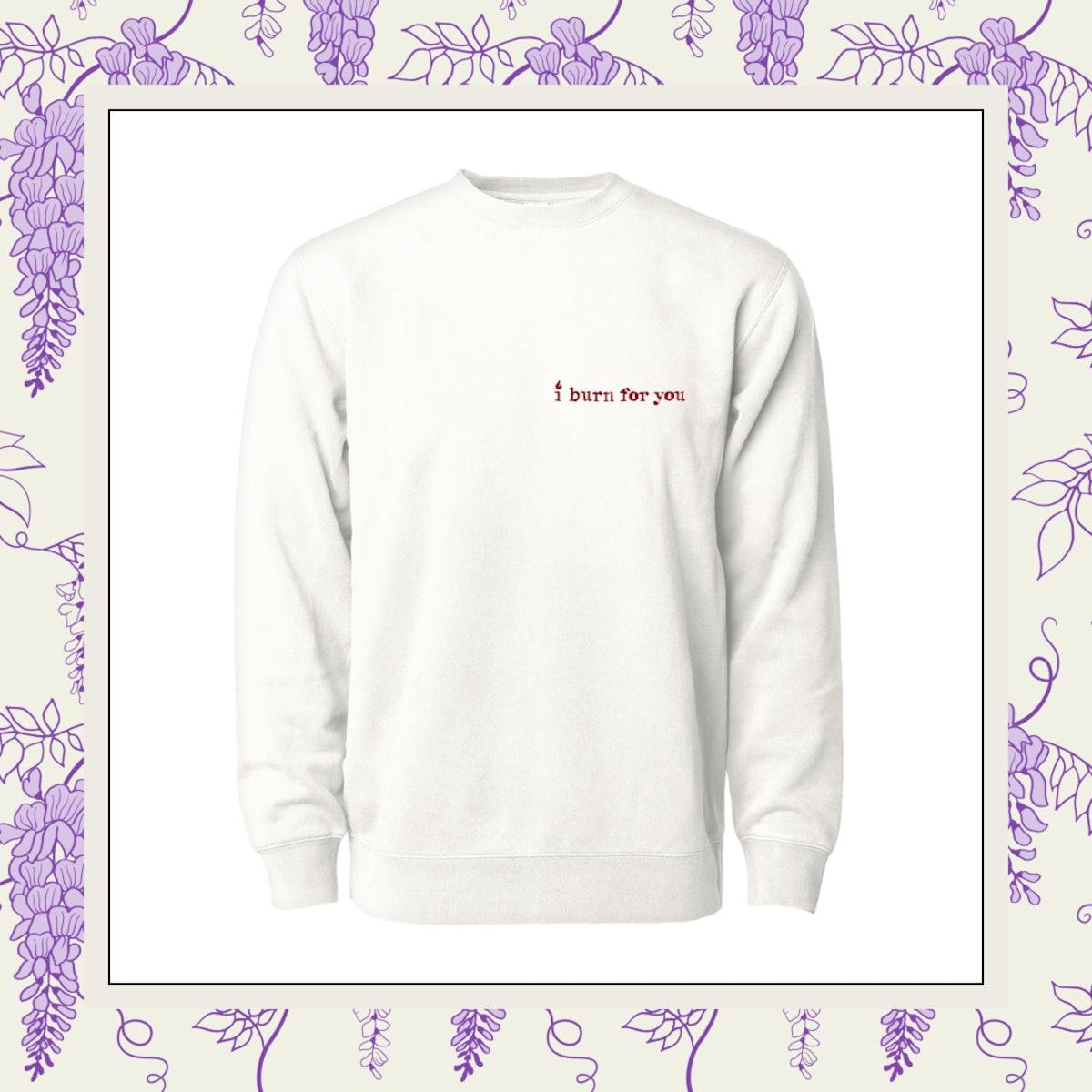 Phenomenal x Bridgerton Collab (I Burn For You) Crewneck Sweatshirt