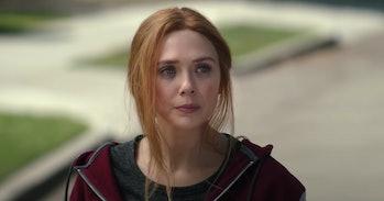 Elizabeth Olsen as Wanda Maximoff/Scarlet Witch in WandaVision