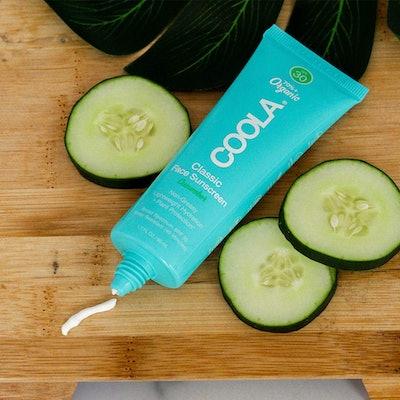 COOLA SPF 30 Organic Face Sunscreen & Sunblock Lotion