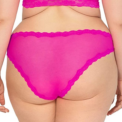 Smart & Sexy Lace Trim Cheeky Panty (2-Pack)