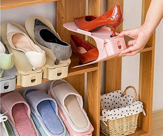 PENGKE Shoe Slots Space Saver (10-Pack)
