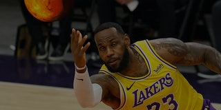LeBron James passing Mars instead of passing a basketball