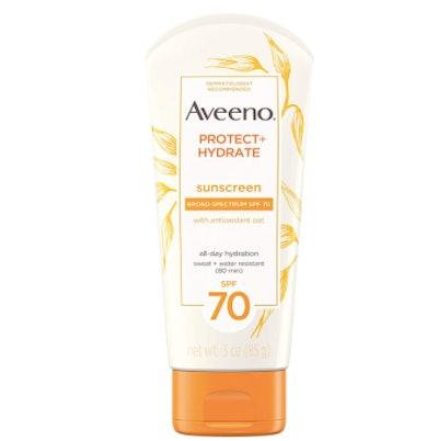 Aveeno Protect + Hydrate SPF 70 Moisturizing Sunscreen