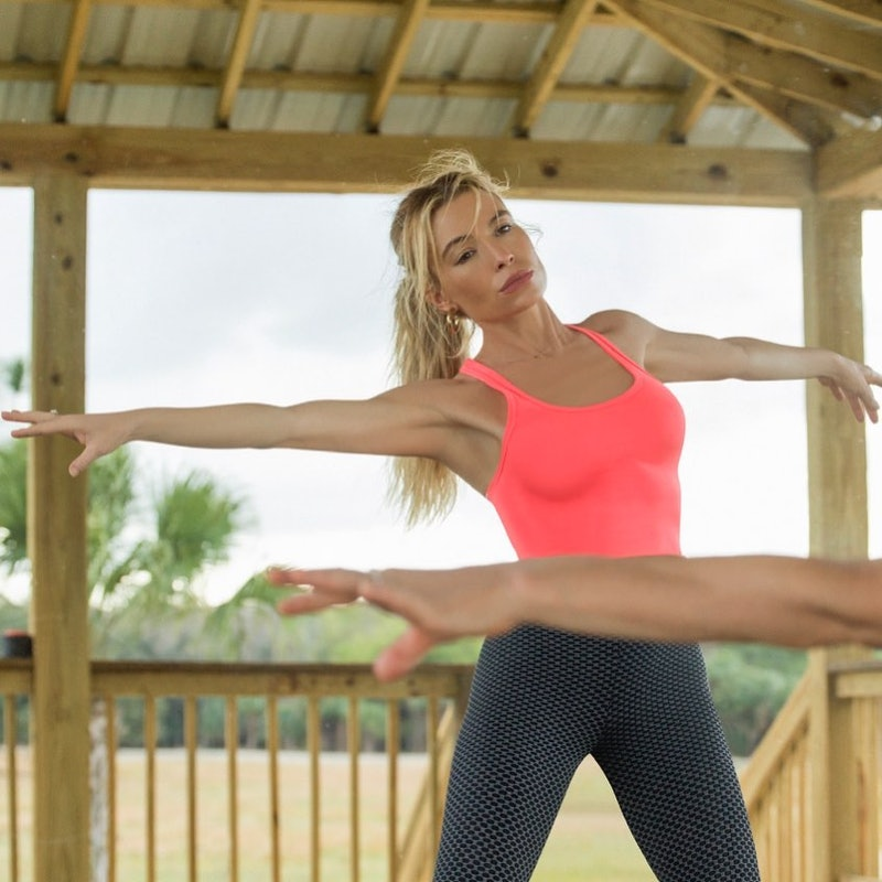 outdoor workout tracy anderson