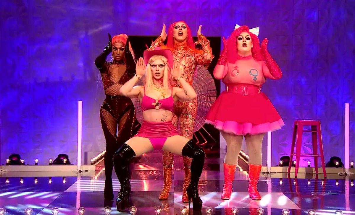 "The lyrics to the United Kingdolls version of ""UK Hun?"" from 'RuPaul's Drag Race UK' Season 2 helped make it a viral sensation."