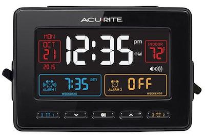 AcuRite Atomic Dual Alarm Clock
