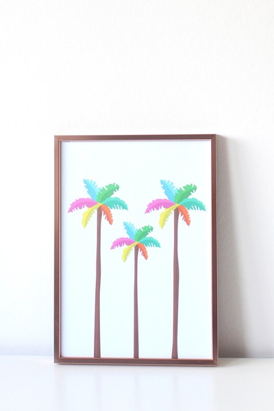 Art Print – Palm Trees – Tihara Smith