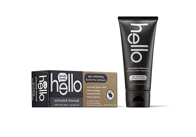 Hello Oral Care Activated Charcoal Toothpaste