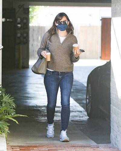 Jennifer Garner is seen on February 02, 2021 in Los Angeles, California.