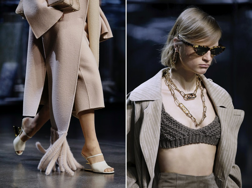 Details of the Fendi spring 2021 show