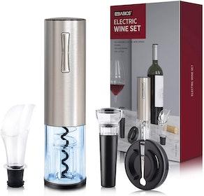 EZBASICS Electric Wine Bottle Opener kit