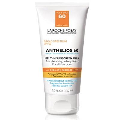La Roche-Posay SPF 60 Anthelios Sunscreen Milk