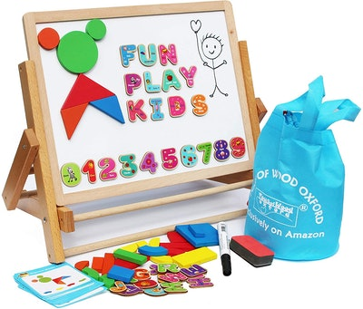 TOWO Wooden Easel for Children