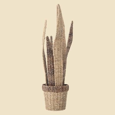 Wicker Plant Decor