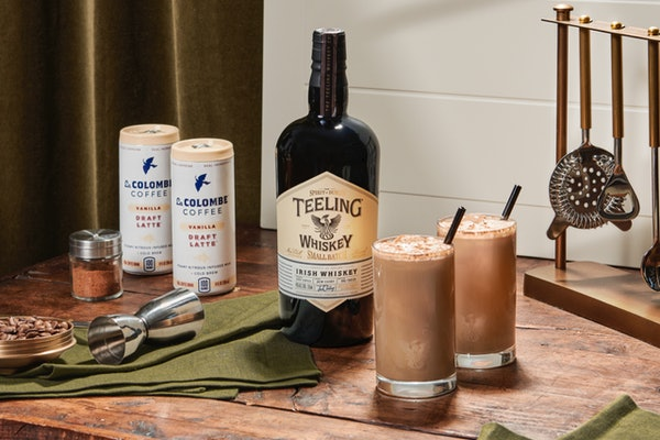 ReserveBar's Irish Coffee Kit with La Colombe & Teeling Whiskey will make the sip so easy.