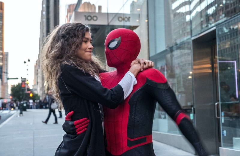 Zendaya and Tom Holland star in 2019's 'Spider-Man: Far From Home.' Photo via Sony Pictures
