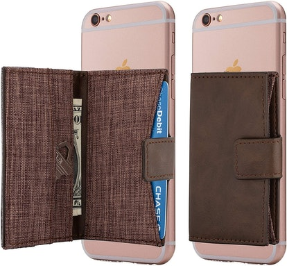 Cardly Cell Phone Card Holder Stick on Wallet