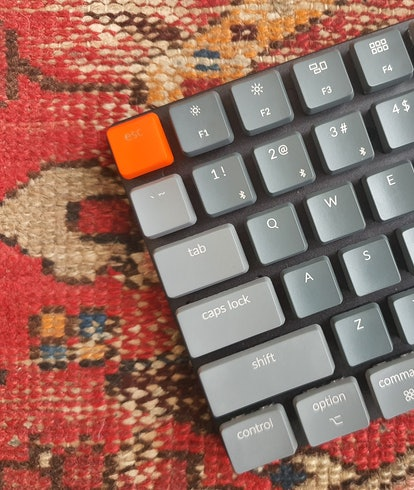 A Keychron K3 mechanical keyboard