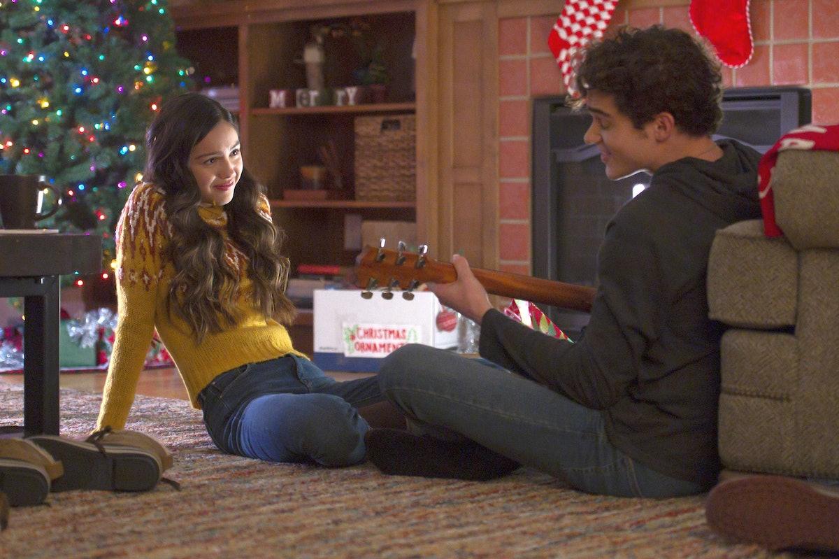Olivia Rodrigo. as Nini and Joshua Bassett as Ricky in High School Musical