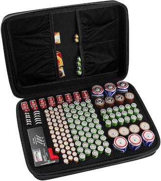 COMECASE Battery Organizer