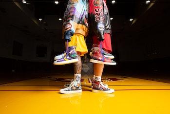 Chinatown Market Converse Jeff Hamilton Bulls Lakers Collaboration