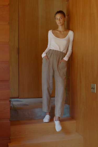 Utility Pant Heavy Laundered Linen