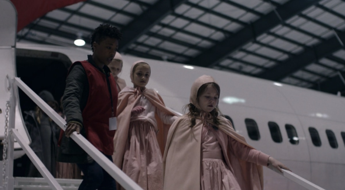 Samira Wiley as Moira Strand in The Handmaid's Tale