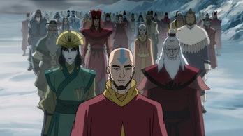 The past Avatars in The Legend of Korra
